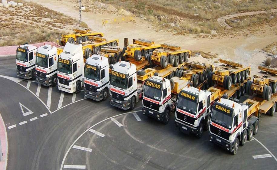 La reducción de costes en la flota de camiones y vehículos ligeros