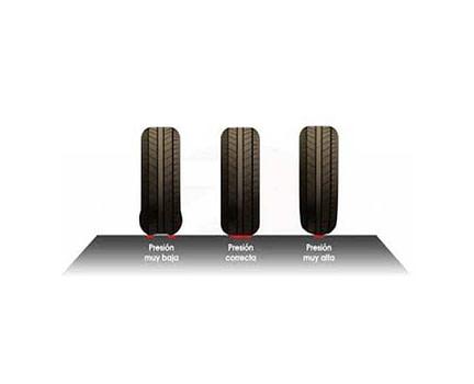 ahorro combustible 3% y aumento seguridad presión ruedas